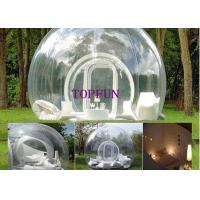 Commercial Transparent PVC Lawn Inflatable Bubble Tent Balloon 4 M Diameter Manufactures