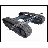Quality hot sell rubber track chassis for sale