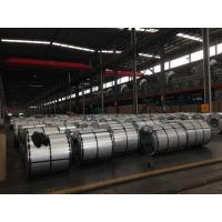 China Cold Rolled Galvalume Steel Coils / Sheet 508mm / 610mm Coil Inner Diameter With Anti-Finger Surface on sale