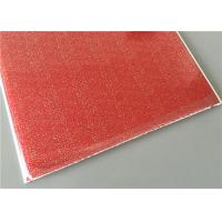 Quality Red Transfer Design Waterproof Wall Panels Light Weight Building Material for sale