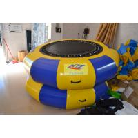 PVC Jumping Inflatable Water Trampoline Big Versatile for Water Park Manufactures