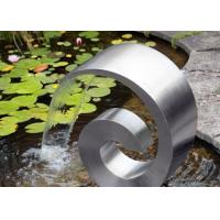 Modern Style Stainless Steel Cascade Water Feature For Home Decoration Manufactures