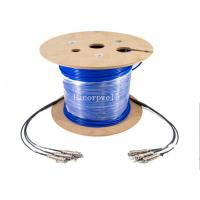 China CPRI cable Waterproof Outdoor Fiber Cable assembly IP67 ODC 4Cores Plug connector on sale