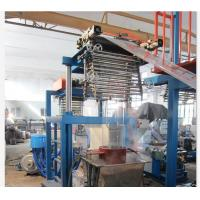 Energy Saving Heat Shrink Label Film Blown Machine With Pillar Under Electric Lift Manufactures