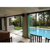 Quality Fine Flexibility Residential Balcony Aluminium Folding Door With Standard Glass for sale