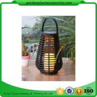 Rechargeable Solar Garden Lights Environmentally Friendly Material Different Shapes Size Manufactures