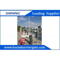 Intelligent Parking LED Boom Barrier Gate 24VDC 430.5MHz With Auto Close Manufactures