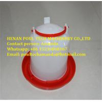 Poultry Equipment White Plastic Baby Chicken Waterer & Day Old Chicken Drinker for Chicken Deep Litter System Manufactures