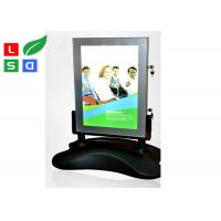 Outdoor LED Poster Display Stand Rechargeable Battery With 8 - 12 Hours Power