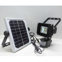 Waterproof Solar Powered Flood Lights Motion Sensor COB Chip Manufactures