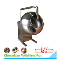 SSS304 Material Chocolate Coating Equipment For Chocolate Beans 1 Year Warranty Manufactures