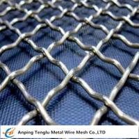Crimped Wire Mesh Screen|by Stainless Steel Durable Coarse Screening Material Manufactures