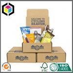 Logo Color Custom Print Corrugated Display Box; Carton Cardboard Box Manufactures
