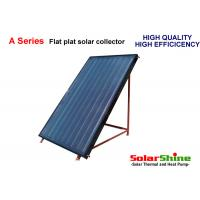 2 Square Meters Flat Plate Solar Collector Aluminum Alloy Material Easy Installation Manufactures