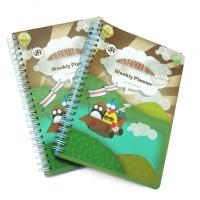 YO spiral binding 300gsm C2S glossy art paper Custom Notepad Printing Service Manufactures