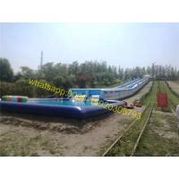 giant slip n slide 1000ft city slide water slide Manufactures