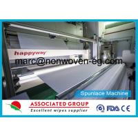 Printed Spunlace Nonwoven Fabric 100 % Viscose / Rayon / Cellulose / Woodpulp / Pulp Manufactures