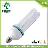 Household 45W Mix Powder U Shaped Fluorescent Light Bulbs With B22 Holder Manufactures