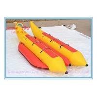 New Inflatable Water Floating Banana Boat for Amusement Park Manufactures