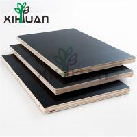 Constraction Material Shuttering Film Faced Plywood 18mm Black Film Faced Plywood Lumber Wood Manufactures