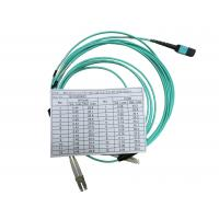 OPTOSTAR Fiber Optical Patch Cord Multi Cores Fiber Cable with One MPO Connector Manufactures