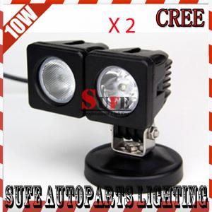 10W CREE LED WORK LIGHT 800LM FLOODBEAM FOG LIGHT FOR OFFROAD MOTORCYCLE BOAT4x4 12V24 Manufactures