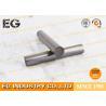 Cylinder Solid Graphite Rod 1.82g / CM3 Bulk Density For Bearings Industry Manufactures