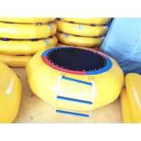 Trampoline Inflatable Water Toys 2.5m 0.9mm PVC Easy Install For Kids Manufactures