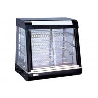 Electric Heating Cake Display Cabinet Counter Top 3-Layers Glass Food Warmer Showcase Manufactures
