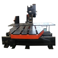 Welding 1250*2500mm 2kw 6mm Cnc Plate Punching Machine Manufactures