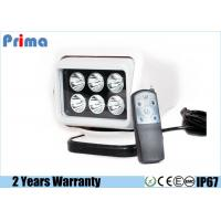 30W Cree Remote Control Led Camping Light With Magnetic Base Cigar Lighter Manufactures