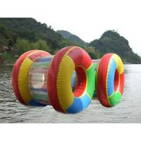 Quality 0.9 mm PVC Adults Inflatable Water Toys Water Roller For Boats , Custom for sale