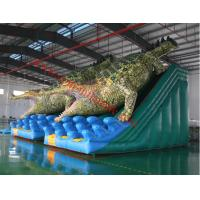 inflatable slip n slide giant dinasour inflatable with slide inflatable bouncy castle Manufactures