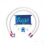 Aluminium Radiator Transmission Oil Cooler Kit , 13 Rows External Transmission Oil Cooler Manufactures