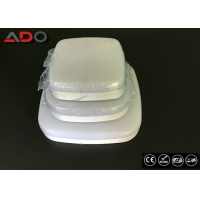 LED Bulkhead Lamp 24W Wall Light 2400Lm AC85-265V IP65 Rated 80Ra Square PC Manufactures