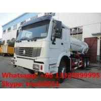 Quality HOWO LHD 16cbm sewage suction truck for sale, HOWO vacuum truck for sale for sale