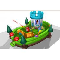 New design inflatable bouncy castle inflatable bounce-outdoor playground equipment Manufactures