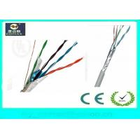 Indoor FTP Cat5e Network Cable , Color Customized Gigabit Ethernet Cable Manufactures