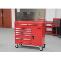 Heavy Duty Red Storge 42 Inch Tool Cabinet Movable With Door Manufactures