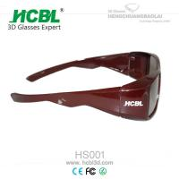 Linear Polarized 3D Cinema Glasses