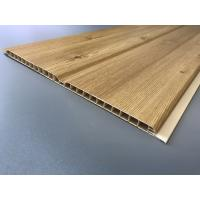 Quality Middle Groove Plastic Laminate Panels Easy Clean 25cm × 9mm Grained Type for sale