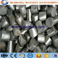 Quality high chromium grinding cylpebs, heat treated grinding media cylpebs, chromium steel balls for sale