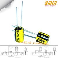 Buy cheap 10uF 250V 8x11.5mm Capacitor GP Series 105°C 4,000 Hours Radial Electrolytic from wholesalers