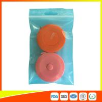 Reusable Zip Lock Bags Vacuum Seal With Hanging Hole For Sample Packing Manufactures