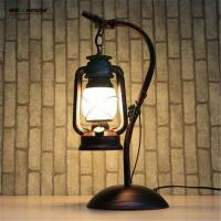 Vintage Loft Table Lamp Edison E27 Bulb AC 110V/220V lamparas de mesa For Living Room Bedroom Bedside Home Decor Coffee Manufactures