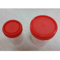 Quality Hospital Laboratory Consumables Sterile Urine Collection Cup / Container 100ml for sale