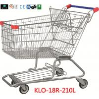210 Litre Grocery Shopping Trolley With Zinc Or E - Coating With Color Powder Coating Manufactures