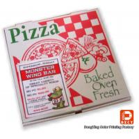 Recyclable Corrugated Cardboard Packaging Pizza Boxes Personalized Pantone Color Manufactures