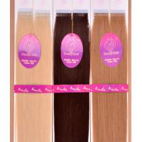 100% Remy Hair Double-taped Hair Extension Manufactures