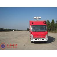 Quality Three Seats Fire Fighting Vehicles 15KW Air Compressor Gas Engine Fire Vehicle for sale